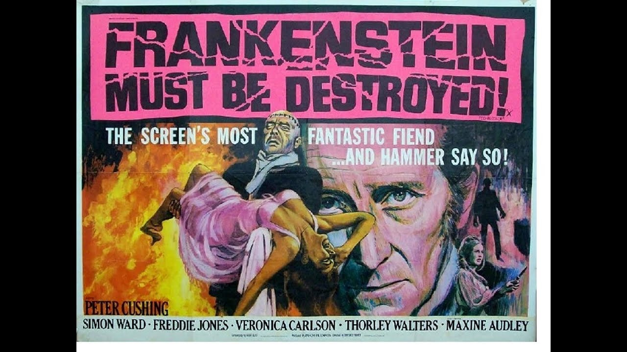 Image result for frankenstein must be destroyed