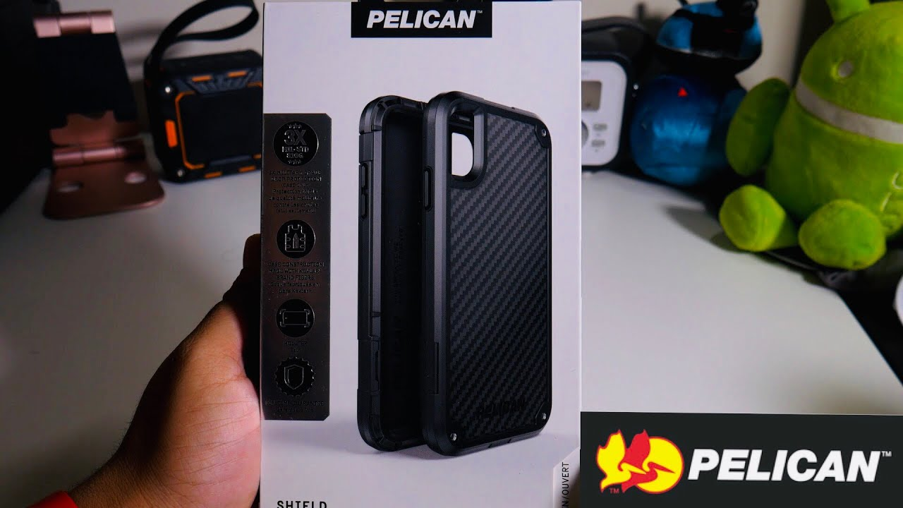 the latest 27ce5 2716e Pelican iPhone Xs Max Shield Case! Holy Kevlar Ruggedness Batman!