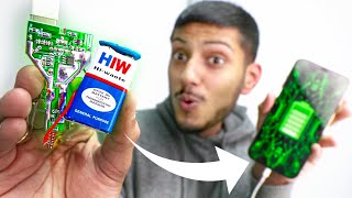 Trying 10 Weird Smartphone Life Hacks !