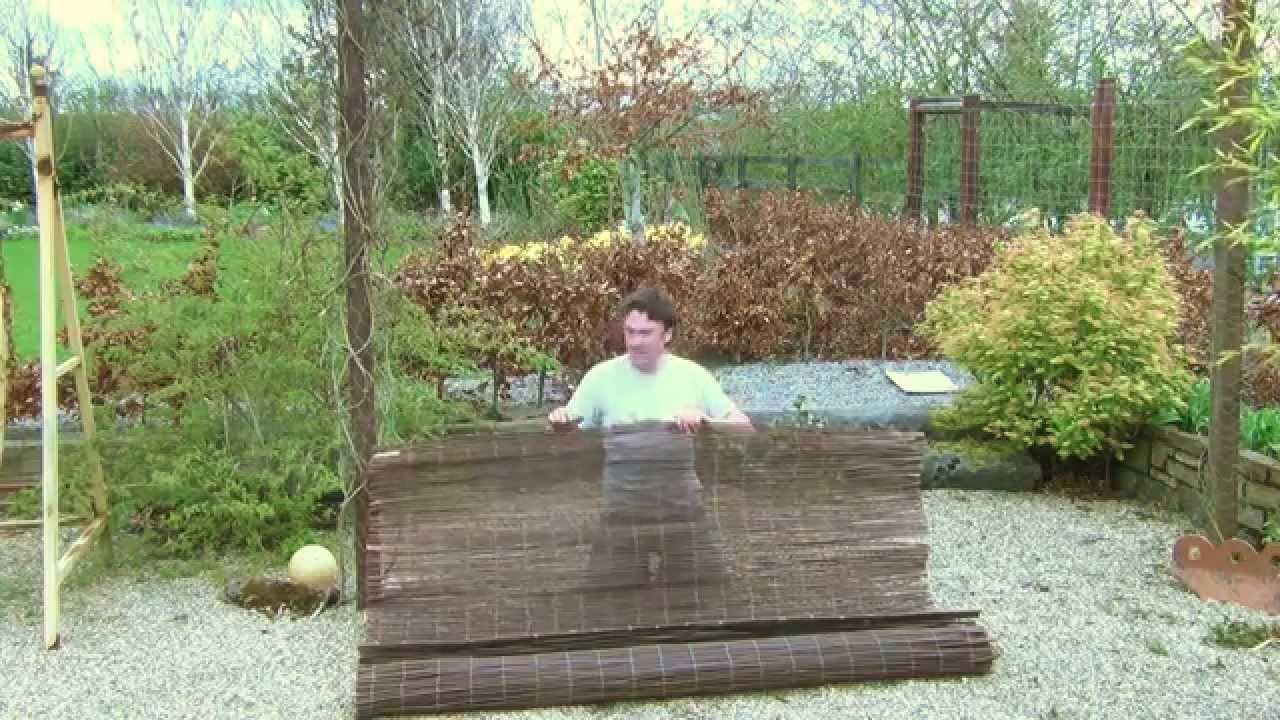 2m Willow Garden Fencing Screen