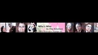 Whos Who In The Kitchen - 1961 Nostalgia Edition