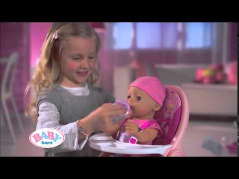 Zapf Creation 819197 Baby Born 174 Interactive Youtube