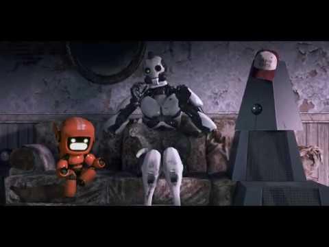 Роботы о кошках.  \ Любовь, смерть и роботы Love, Death & Robots