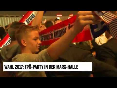 Wahl 2017: FPÖ-Party in der Marx-Halle