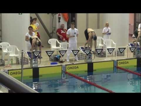 Asia Żbikowska 50m styl klasyczny Finał B Mistrzostwa Polski 17-18 lat thumbnail