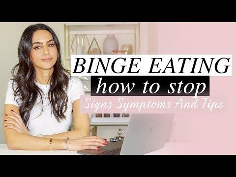 Binge Eating: Signs, Symptoms & Tips How To Stop Binge Eating