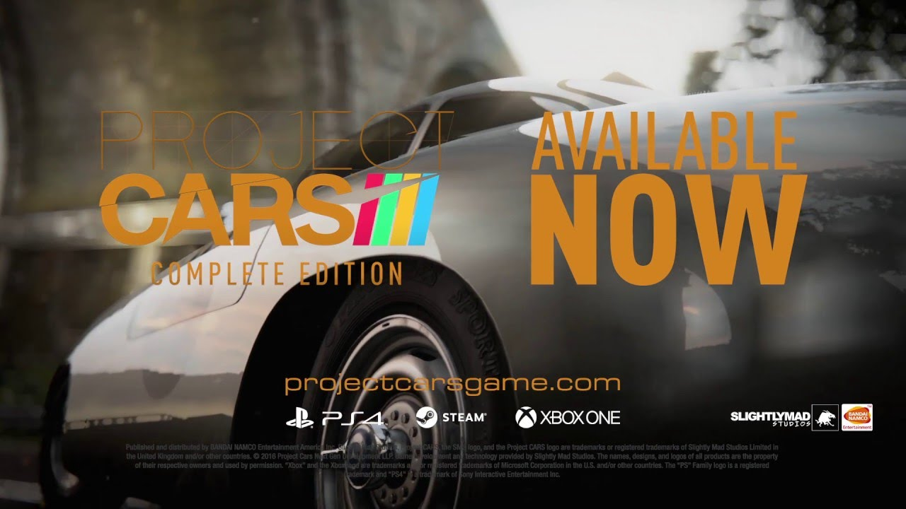 project cars game of the year edition launch trailer. Black Bedroom Furniture Sets. Home Design Ideas