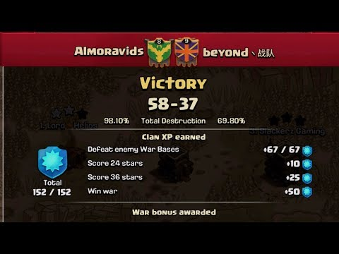 Clash of Clans- Almoravids War recap 5-25-17