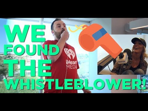 In-Studio Videos - We Found The Whistleblower AND He Works For iHeart!
