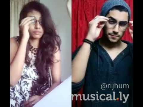 musically duet | wo dikhne mai | Riya Paul |