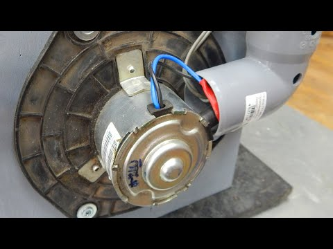 Amazing device from car heater motor!
