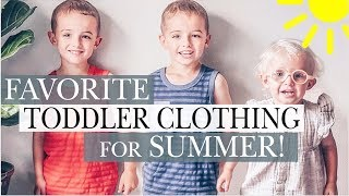 AFFORDABLE KIDS' SUMMER CLOTHING FAVORITES | KIDS + TODDLER styles for BOYS and GIRLS!