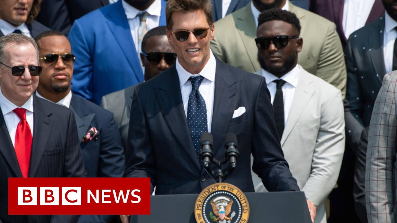 Tom Brady Jokes About Election Results as Buccaneers Visit White ...