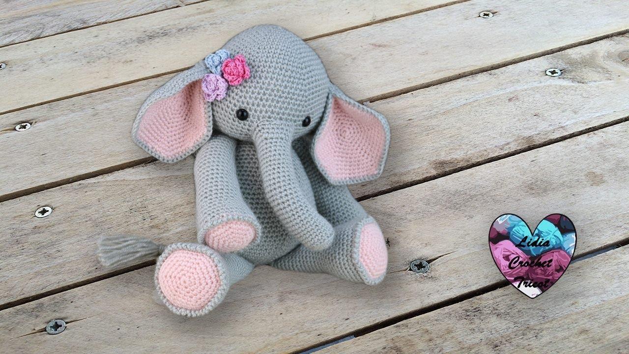 Amigurumi éléphant Crochet Partie 12
