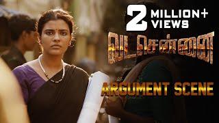 VADACHENNAI Argument Scene | Dhanush | Ameer | Andrea Jeremiah | Vetri Maaran