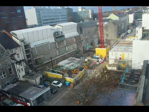 Construction Site Web Cam: November 2017