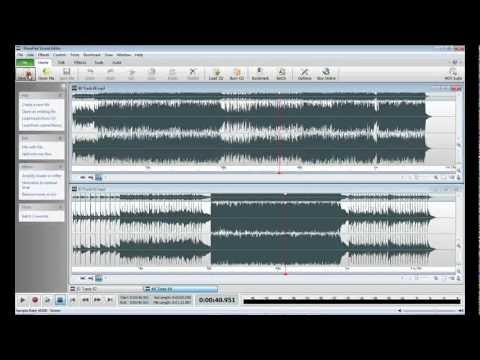 WavePad Audio Editing Software | Introduction - YouTube