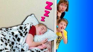 Челлендж Не разбуди сестру! // Твиксики
