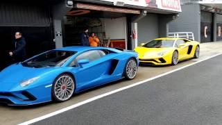 Video fra Circuit Ricardo Tormo, Valencia, som udgjorde en del af p...