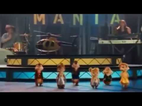 Alvin e os esquilos cantando Me Chama  De My Love Thiago Brava e Gkay