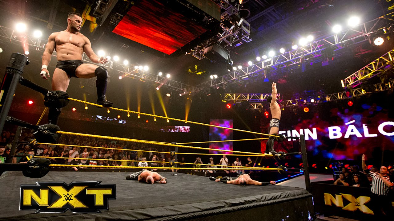 Finn Bálor Debuts In Nxt To Help Hideo Itami Battle The Ascension Wwe Nxt Nov 6 2014 Youtube