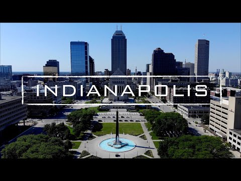 Indianapolis, Indiana | 4K Drone Footage