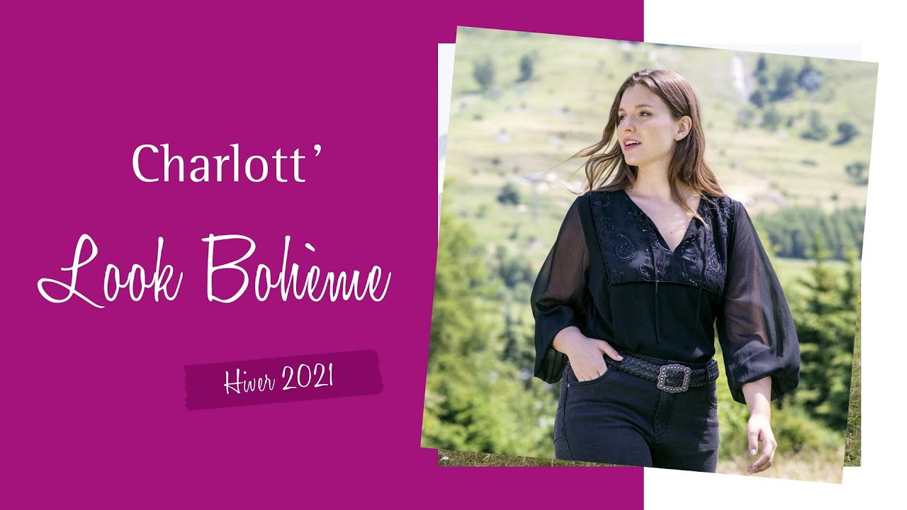 Download Découvrez le look BOHÈME - Collection Hiver 2021 Charlott'