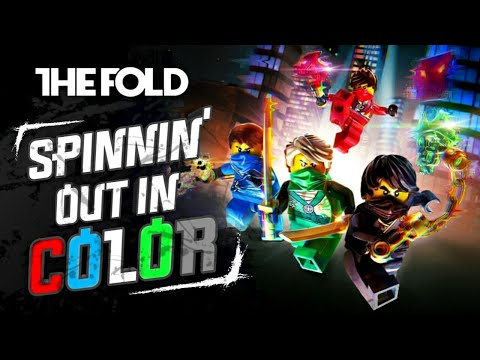 """LEGO NINJAGO """"Spinning Out In Color"""" Official Video by The Fold"""