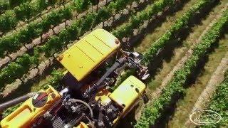 Réalisation Films Vidéo matériel viticole Automoteur Optimum Pellenc pulvérisateur Eole effeuilleuse