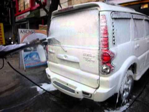 Express Car Foam Wash Youtube