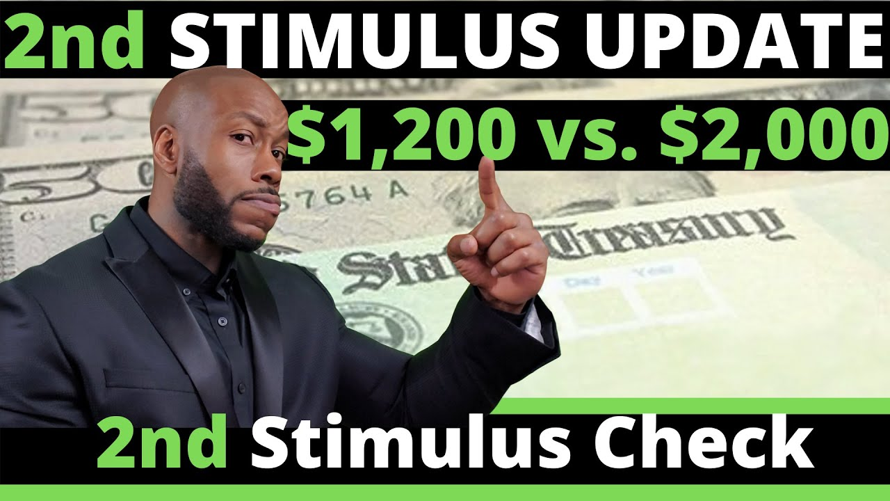 NOW!! Second Stimulus Check Update!! July 9 + $1,200 vs $2,000