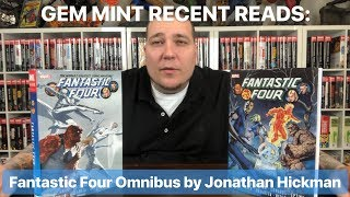 Gem Mint Recent Reads: Fantastic Four Omnibus vol. 1 & 2 by Jonathan Hickman