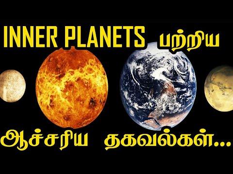 Inner Planets பற்றிய ஆச்சரிய தகவல்கள்   Space Videos   5 Min Videos