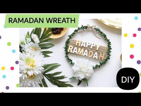 DIY Easy Ramadan Wreath /Ramadan Decor