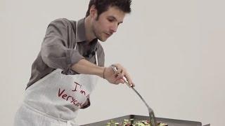 Recette à la plancha - Gambas et légumes du soleil, par Grégory Cuilleron
