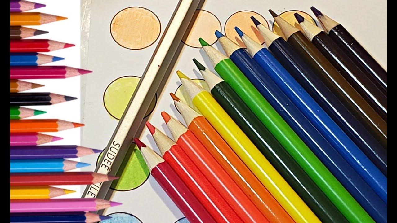 Turn Cheap Pencils Into Artist Pencils Coloring Trick ...