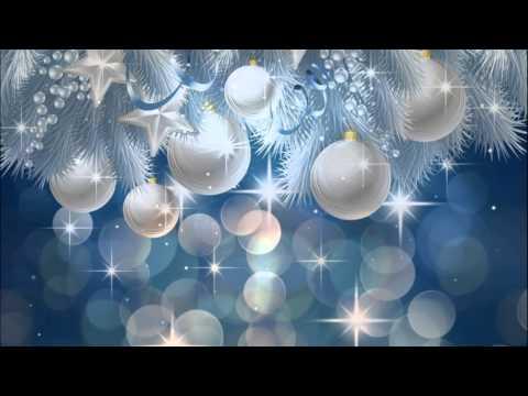 Видео Новогодний фон с орнаментом