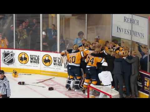 Erie Otters score to win the 2017 OHL title in overtime