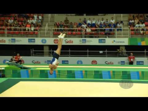 SHATILOV Alexander ISR  2016 Olympic Test Event, Rio BRA  Qualifications Floor Exercise