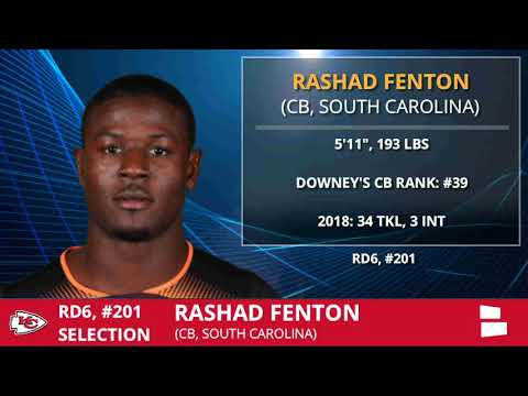 Kansas City Chiefs Select Rashad Fenton With Pick #201 In Round 6 of NFL Draft - Grade & Analysis