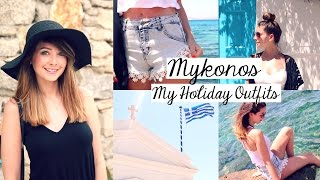 Mykonos 2015 | Outfit Diary | Zoella