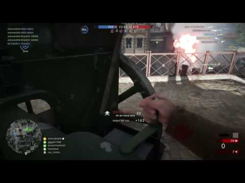 Battlefield™ 1 Online: Doing 4 kills with FK 96 Field Gun in Amiens