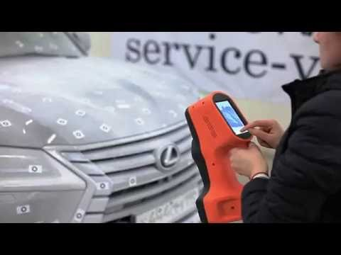 Scanning and processing 3D model of Lexus SUV with Thor3D scanner