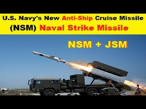 U.S. Navy's New Anti-Ship Cruise Missile, NSM or Naval Strike Missile