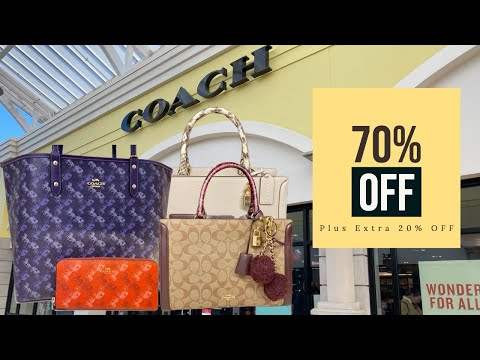 COACH OUTLET BIG SALE!! LOTS OF NEW STYLES