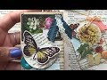 ATC Cards Using Old Book Pages -  DIY- Artist Trading Card Tutorial - YennyStorytale
