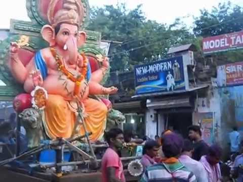 Ganesh Puja Immersion in Balasore