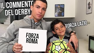 RONALDO E RONALDO JUNIOR commentano IL DERBY
