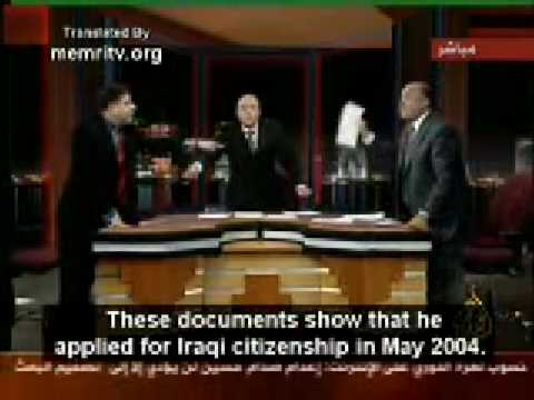 Arab Debate on Saddam, hilarious!
