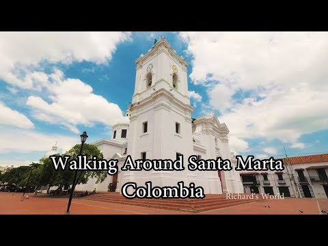 Colombia - Walking Around Santa Marta City - Yi 4k+